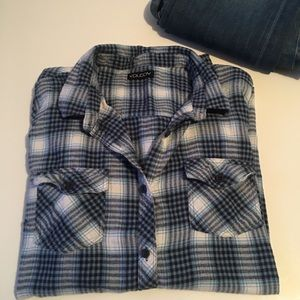 Volcom flannel button up